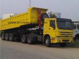 Sinotruk HOWO Camión Tractor en venta con alta del parachoques delantero
