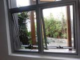 Finestra di alluminio della tenda/finestra appesa superiore e finestra dell'oscillazione