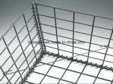 GabionボックスかGabionの六角形ワイヤー網またはバスケット
