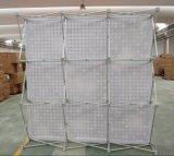 L'étalage de polyester/tissu, sautent vers le haut le présentoir/sautent vers le haut le stand