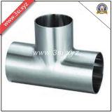 Té de pipe d'acier inoxydable d'ASTM A403 (YZF-P05)