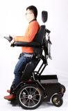 [جبه] كهربائيّة يقف قوة كرسيّ ذو عجلات مع [بغ] جهاز تحكّم