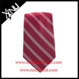 La cravate des hommes chinois de mode tissés par jacquard en soie de 100%