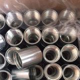 Adaptador de férula de mangueira hidráulica de aço carbono para SAE 100 R2 em / En 853 2sn Mangueira