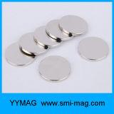 Starker Magnet scheibenförmige NdFeB Magneten des Neodym-N35 für Verkauf