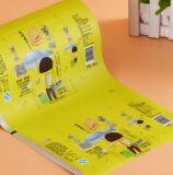 Empaquetado plástico flexible de la película que lamina para el bocado con la impresión del fotograbado