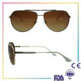 Nuevas gafas de sol del brazo del metal de las gafas de sol de las mujeres del ojo de gato de la vendimia de la manera