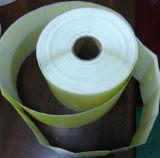 Escritura de la etiqueta amarilla auta-adhesivo del papel termal (70*35m m)