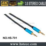Câble sonore mâle de Jack 3.5 neufs
