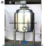 Serbatoio di mescolamento di raffreddamento del latte dell'acciaio inossidabile