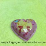 Heart-Shaped gedrucktes fantastisches pp.-festes Blasen-Plastiktellersegment