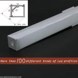 90 도 LED 복도 구석 점화를 위한 알루미늄 채널 밀어남
