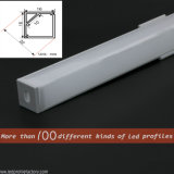 Aluminiumkanal-Strangpresßling 90 Grad-LED für Flur-Ecken-Beleuchtung