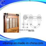 Самомоднейшая конструкция оборудования Bdh-04 двери амбара твердой древесины
