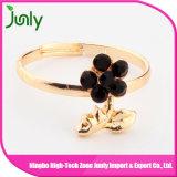 Anillos hermosos populares de las señoras de la joyería del anillo de compromiso del oro