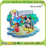 Souvenir promotionnel personnalisé la Floride (RC- USA) d'aimants de réfrigérateur d'Aimant de décoration de cadeaux