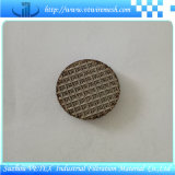 Сплетенный нержавеющей сталью диск фильтра ячеистой сети