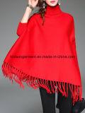 Batwing Turtleneck окаимленный для одежд способа женщин в Китае (W18-603)