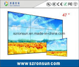 El bisel estrecho 47inch 55inch de la cena adelgaza la pantalla video de la pared del LCD que empalma