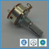 potentiomètre rotatoire de 16mm avec le commutateur pour l'amplificateur de mélangeur