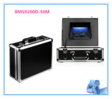 """sistema de inspeção impermeável 7 """" LCD DVR do dreno do encanamento da tubulação da câmera do esgoto de 50m"""