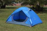 2 personen 7.9mm Tent van Pool van de Glasvezel de Openlucht Automatische