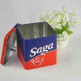 Verpakking van de Doos van de Container van het Voedsel van de Doos van het Tin van de Munt van het Metaal van de fabriek direct de Douane Afgedrukte
