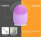 Eléctrica de Sonic silicona cepillo de limpieza facial