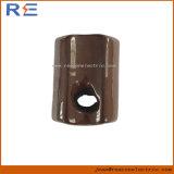 Isolante di ceramica della porcellana della sospensione del disco