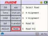 多彩なタッチ画面のグラフィック・ディスプレイが付いているRuide Reflectorlessの総端末Rts-862r4a