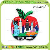 Souvenir permanent personnalisé New York (RC- USA) d'aimants de réfrigérateur de cadeaux promotionnels