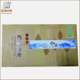 Contenitore di imballaggio bianco della scatola di cartone quadrata del regalo con il nastro per monili che impaccano all'ingrosso