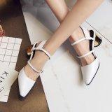 Schoenen van het Leer van het Sandelhout van de Hiel van de Dames van de Stiletto van het Platform van vrouwen de Hoge