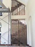 Configuration de découpage de laser d'écran d'acier inoxydable de partition de porte en métal