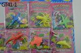 Chaud ! Jouets croissants réglés pour les animaux colorés de cadeaux de Chindren s'élevant dans des jouets de l'eau