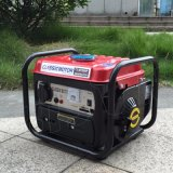 Mini leises Haushalts-billig bewegliches kupferner Draht-Generatoren Gleichstrom-Generator-Diplombenzin 12V des Bison-(China) BS950b 650W Cer