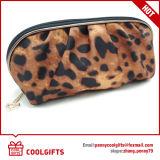 2016 de Nieuwe Kosmetische Zak van het Satijn van de Luipaard van de Manier, Dame Makeup Bag