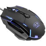 Computer-knöpft Mouse/USB verdrahtete Spiel-Mäuse für Spiel-Maus 6 der PC MausG2 3200 Dpi das Schwarze