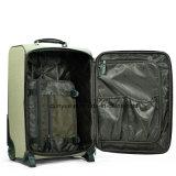 El bolso de cuero del equipaje de la PU del modelo de la impresión de Digitaces de la alta calidad, fábrica del OEM hace el bolso de la carretilla del recorrido para el viaje de negocios