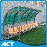 Abrigos portáteis da equipe de futebol do VIP, Dug-out do futebol para jogadores