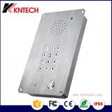 IPの相互通信方式の電話Knzd-15産業電話エレベーターの緊急時の電話