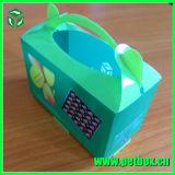 Pequeño rectángulo de regalo del embalaje del caramelo de la suposición plástica de la exposición