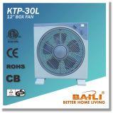 """Goede Verkoop 12 de """" Vierkante Ventilator van de Doos met Luifel, de Tijdopnemer van 1 Uur"""