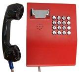 Téléphone VoIP pour le service bancaire, téléphones à l'épreuve du vandalisme, téléphone raboteux