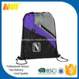 Мешок Backpack Drawstring джинсовой ткани полиэфира высокого качества 420d