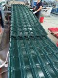 Hoja del material para techos de la resina sintetizada de la eficacia alta, azulejo de material para techos de la azotea
