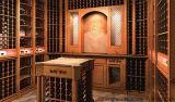 Верхний сегмент подгоняет деревянную мебель DEC винного погреб погреба