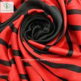 Neueste gestreifte gedruckte Dame Fashion Chiffon Silk Scarf des Schal-2017