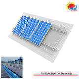 Bride solaire de défilement ligne par ligne de système de support de vente de bride chaude de mise à la terre (MD0009)
