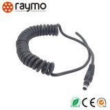 Connecteur de connecteur coudé vidéo audio au câble d'assemblage du câble D-Tap